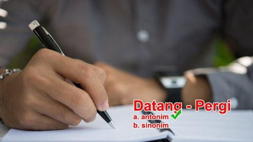 20 Soal Latihan Psikotes Antonim Sinonim Part I